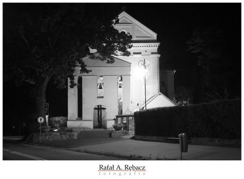 Muszyna – muszyńskie zdjęcia nocą