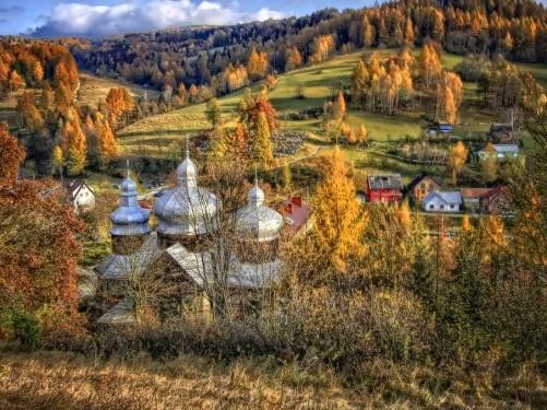 Żegiestów jesienią
