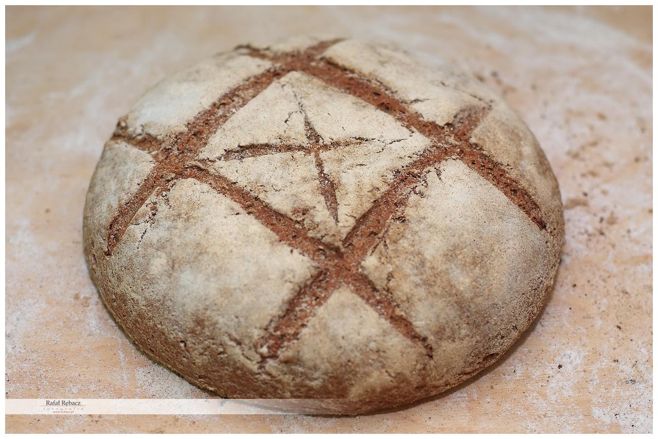 Piękny okrągły chlebek